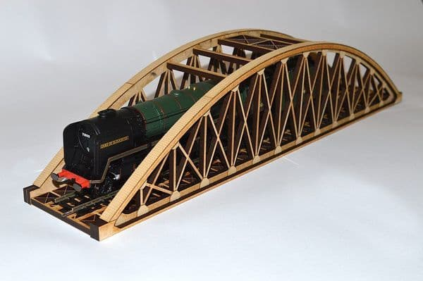 LX036-OO Single Track Bowstring Bridge OO/4mm/1:76